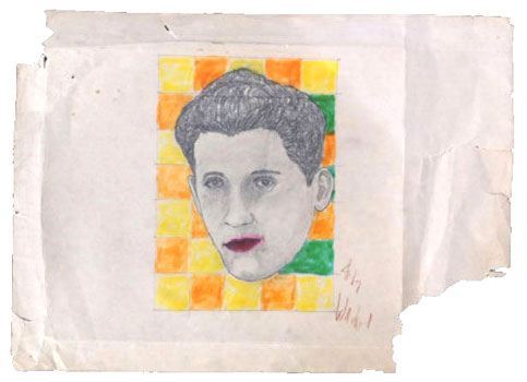 Andy Fields' alleged Warhol sketch