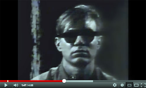 Andy Warhol missing Screen Test