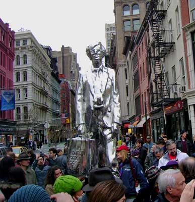 Andy Warhol Statue