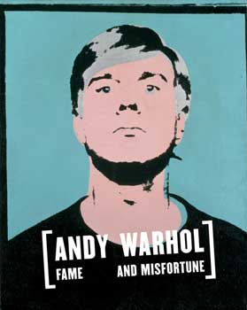 andy warhol fame and misfortune cover