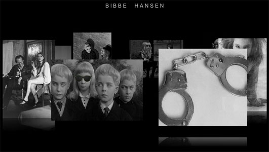 Bibbe Hansen website