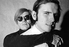 Andy Warhol and Rod LaRod