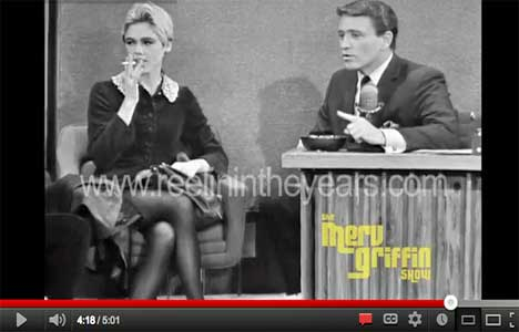 andy warhol and edie sedgwick on merv griffin