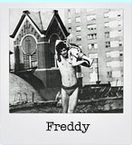 Freddy Herko who appeared in Andy Warhol's films and danced at Judson Church