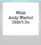 Response to Richard Dorment about Joe Simon's alleged Self-Portrait of Andy Warhol