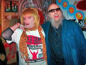 Jayne County and Billy Name