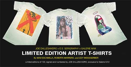 Joe Dallesandro t-shirts