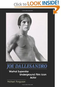 joe dallesandro book by Michael Ferguson