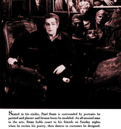 Paul Swan in Life magazine