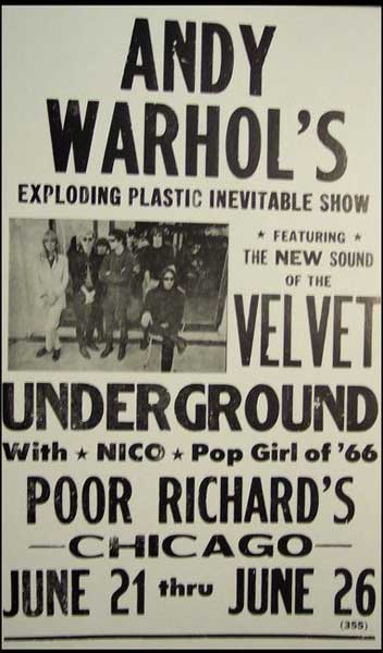 Velvet Underground at Poor Richard's