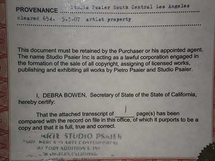 pietro psaier state of california document
