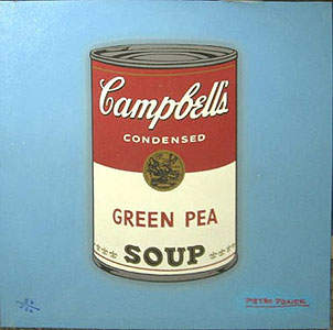 Pietro Psaier Campbell's Soup Can