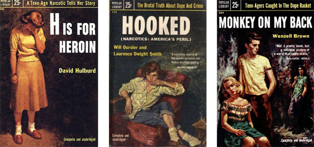 Popular Library books about drug addicts in the 1950s - H is for ...