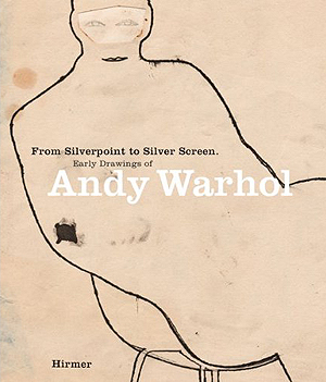 Warhol early drawings book cover