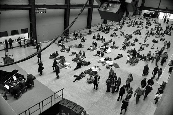 Sleep at the Tate Modern
