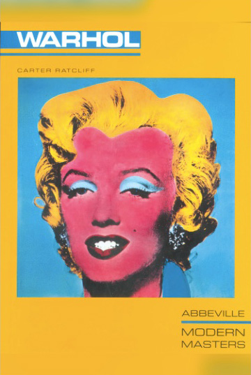 Warhol by Carter Ratcliff front cover