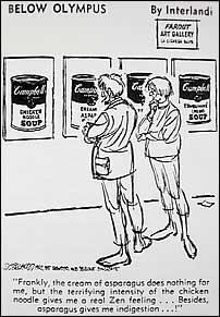 Campbell's Soup Can cartoon