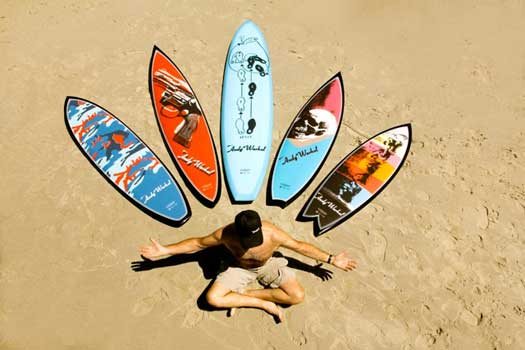 andy warhol surf boards